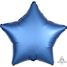 Foil Balloon - Azure Satin Luxe Star