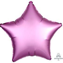 Foil Balloon - Flamingo Satin Luxe Star