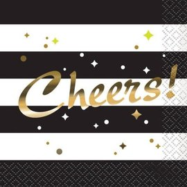 Napkins Bev - Cheers Chic Party