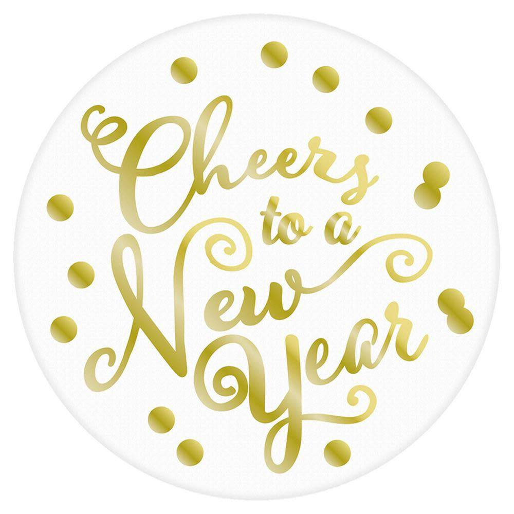 Coasters - Cheers to a New Year - Victoria Party Store