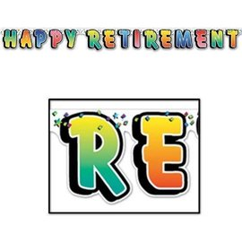 Banner - Happy Retirement