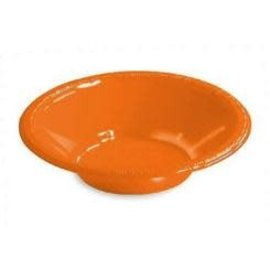 Bowls-Orange Peel-20pkg-12oz-Plastic