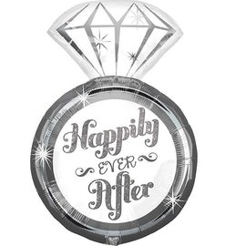 Foil Balloon - Happily Ever After Supershape