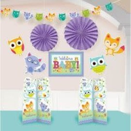 Room Decorating Kit - Woodland Welcome