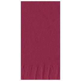 Dinner Napkins 50 pc - Burgundy- Discontinued