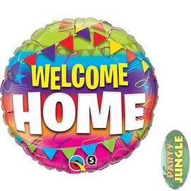 """Foil Balloon - Welcome Home - 18"""""""