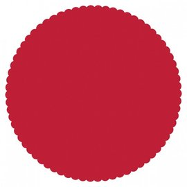 Paper Placemats - Red Circles 8pk