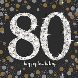 Napkins LN - Sparkling Celebration 80