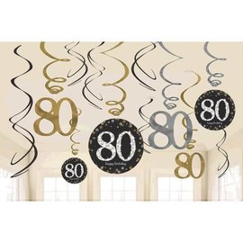 Swirls - Sparkling Celebration 80