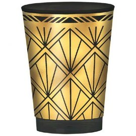 Glitz & Glam Hot-Stamped Plastic Printed Tumbler, 10 oz.