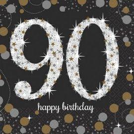 Napkins Bev - Sparkling Celebration 90th