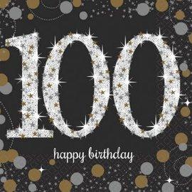 Napkins Bev - Sparkling Celebration 100th