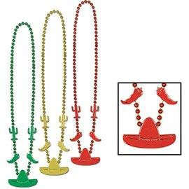 Bead Necklaces - Fiesta