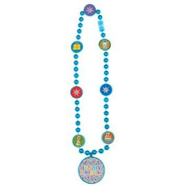 Bright Birthday Party Bead Necklace
