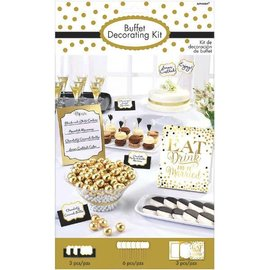 Buffet Decorating Kit - Wedding