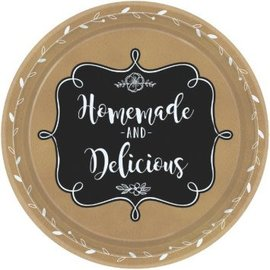 """Dinner Paper Plates- Homemade and Delicious- 8pk/10.5"""""""