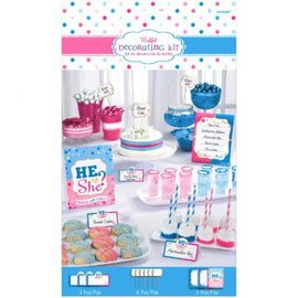 Buffet Decor Kit - Gender Reveal