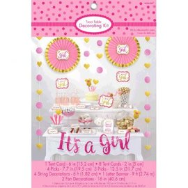 Buffet Decor Kit - It's a Girl