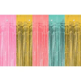 Door Curtain - Pastel Foil