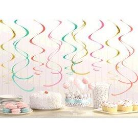 Decorations Swirl Pastel