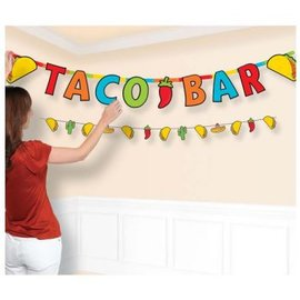 Banner- Taco Jumbo Letter Combo