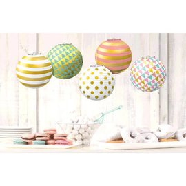 Lanterns Mini Hot Stamp - Pastel (6PCS)