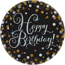 Plates Bev Sparkling Celebration