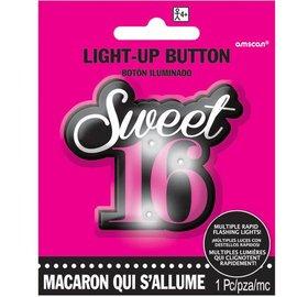 Flashing Button - Sweet 16