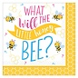 Beverage Napkins- What Will It Bee?- 16pk-2ply