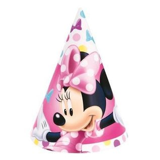 Hats- Minnie Mouse- 8pk