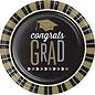 """Lunch Paper Plates- Congrats Grad- 8pk/8.75"""""""