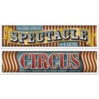 Banners - Vintage Circus