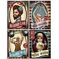 Cutouts Poster Vintage Circus