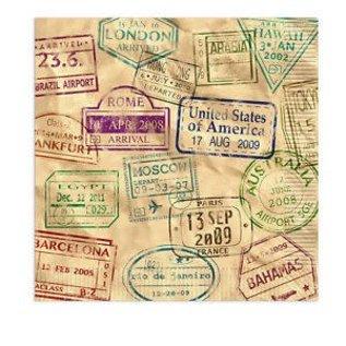 Napkins LN - Around The World (16PK)