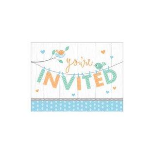 Invites - Hello Baby Boy- 8pk