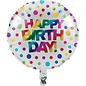Foil Balloon - Rainbow Foil - 18""