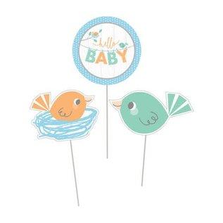 Centerpiece Sticks - Hello Baby Boy