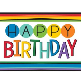 Tablecover - Rainbow Birthday - Discontinued