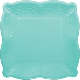 Plates- DN- Robin Egg Blue