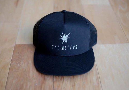 The Meteor Trucker Hat Black