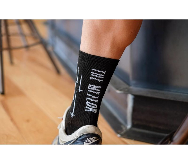The Meteor Socks Black Small/Medium