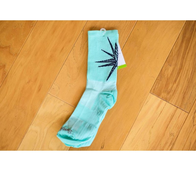 The Meteor Socks Turquoise Small/Medium