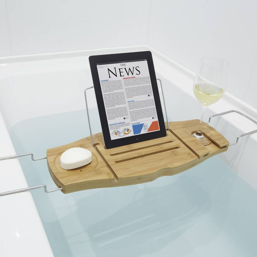 Umbra Aquala Bathtub Caddy Natural - M2GO