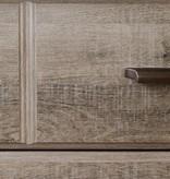 South Shore Bureau double 8 tiroirs, Chêne vieilli, collection Versa