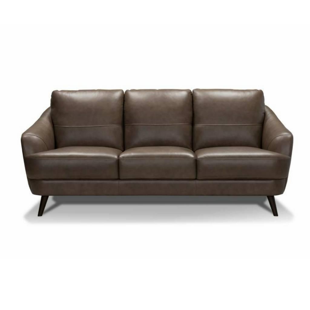 G Digio Leather Sofa Khaki, Jazz   M2GO