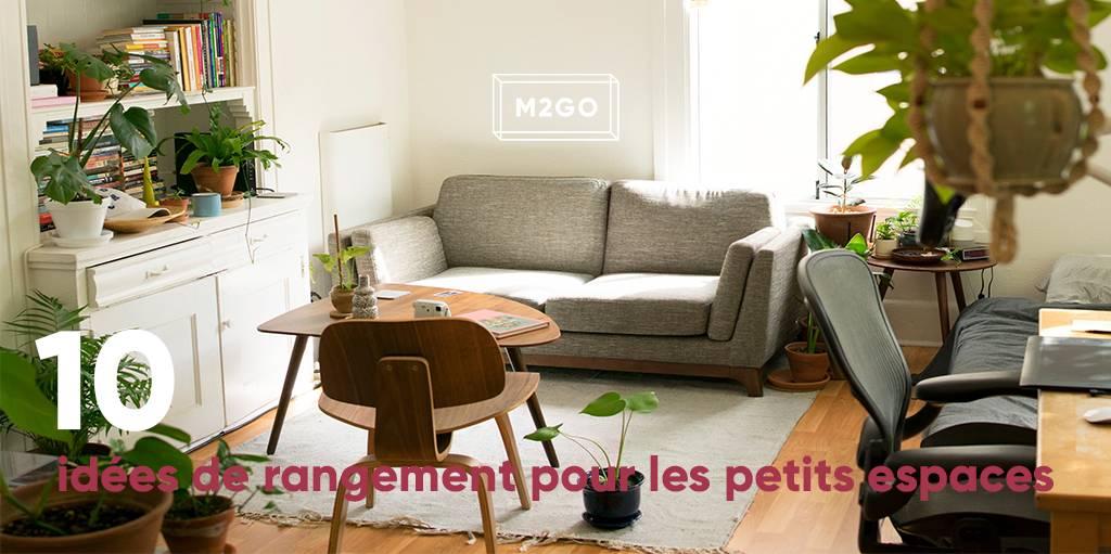 10 id es de rangement pour les petits espaces m2go. Black Bedroom Furniture Sets. Home Design Ideas