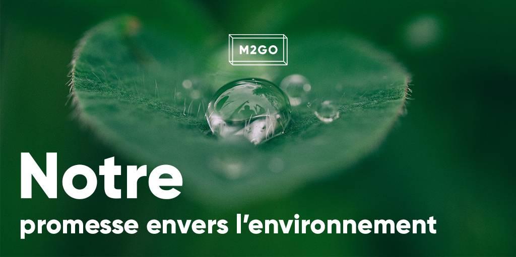Notre promesse envers l'environnement