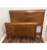 Solid Wood Twin Bed Frame w/Rails
