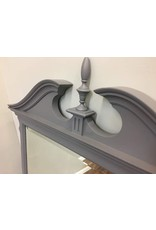Large Gray Painted Federal Style Mirror