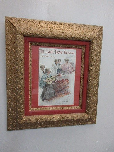 Oct 1908 Ladies Home Journal Cover
